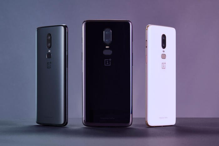 the OnePlus 6 would copy back to the iPhone X