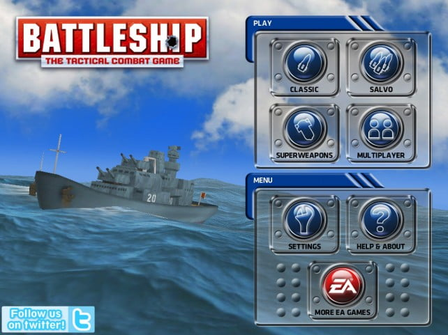 The Sinking the Fleet Classic comes to iPad