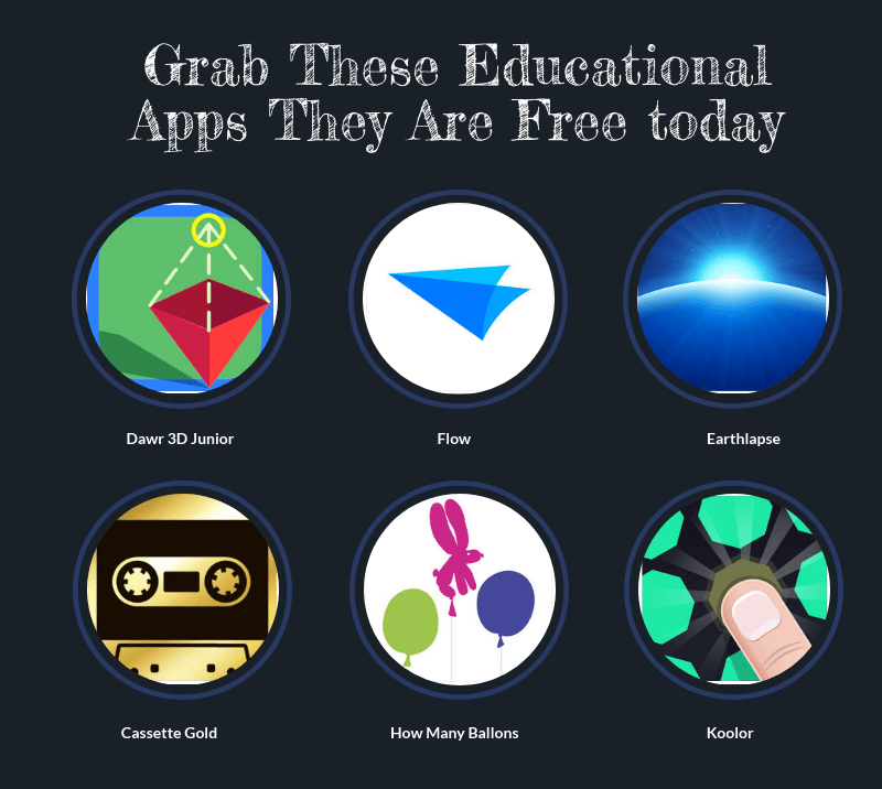 these apps are free today