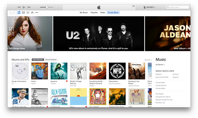 This is how the Apple Company has redesigned iTunes 12
