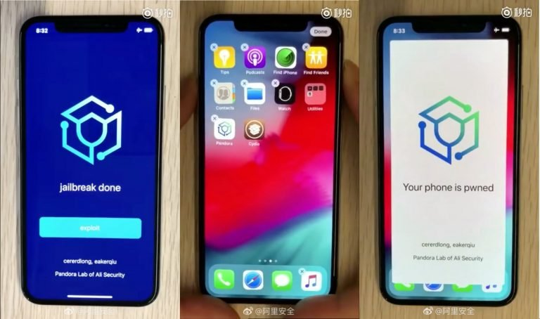 This is how the iOS 11.4 Jailbreak works on video!