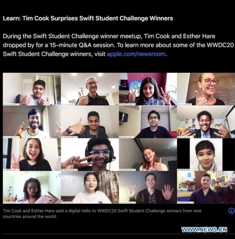 This is the WWDC20 gift that Apple will send to the Swift Challenge winners