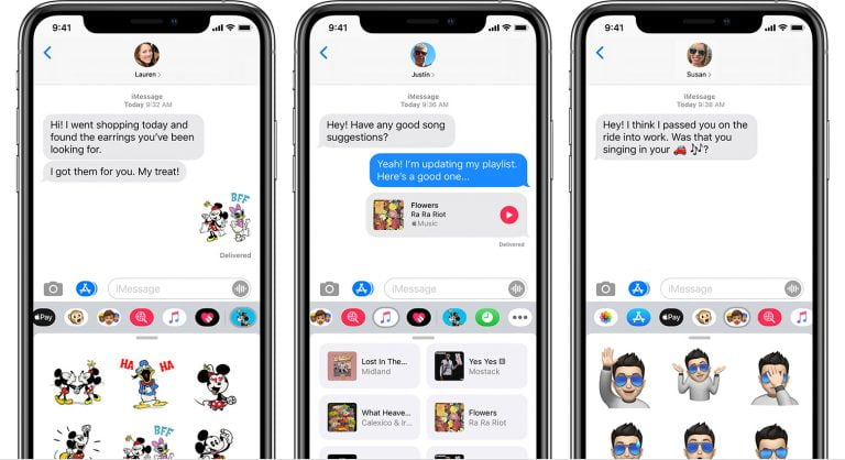 Using Stickers and Apps in iOS 10 Messages