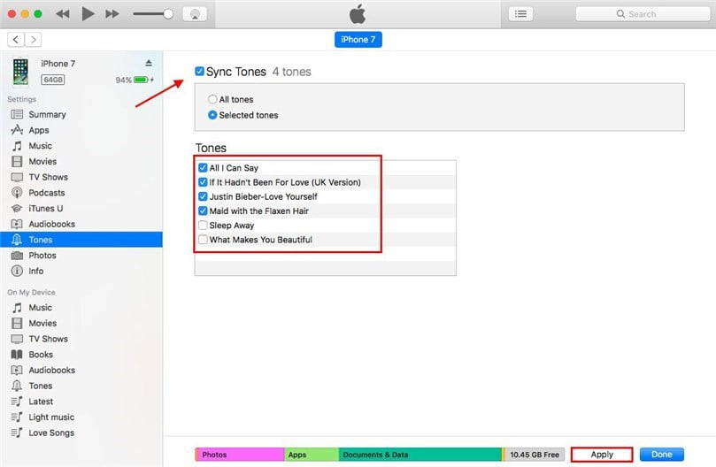 With iTunes 12.7, passing on ringtones to your iPhone is easier than ever