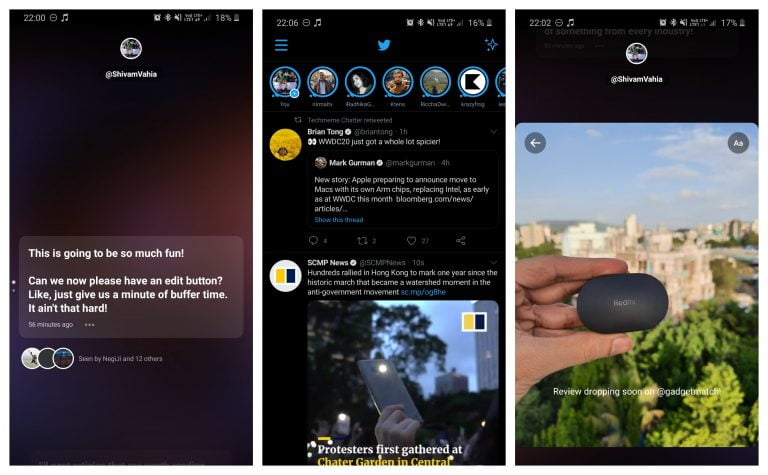 Xiaomi's official Twitter in Brazil uses an iPhone