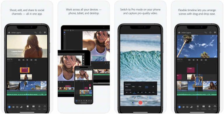 8mm, iOS application for making Instagram style videos