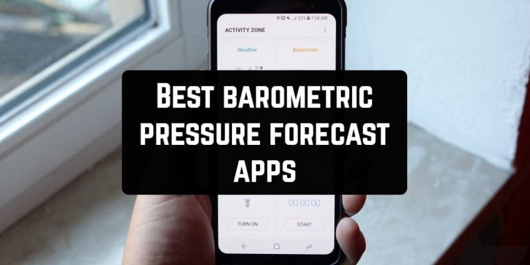 a beautiful app to monitor the weather forecast
