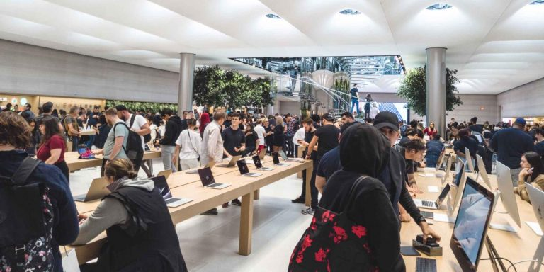 A look at the new Upper East Side Apple Store, possibly one of the most beautiful in the world