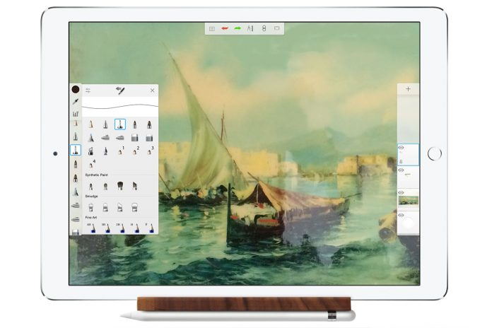 a new app for illustrators and painters with iPad