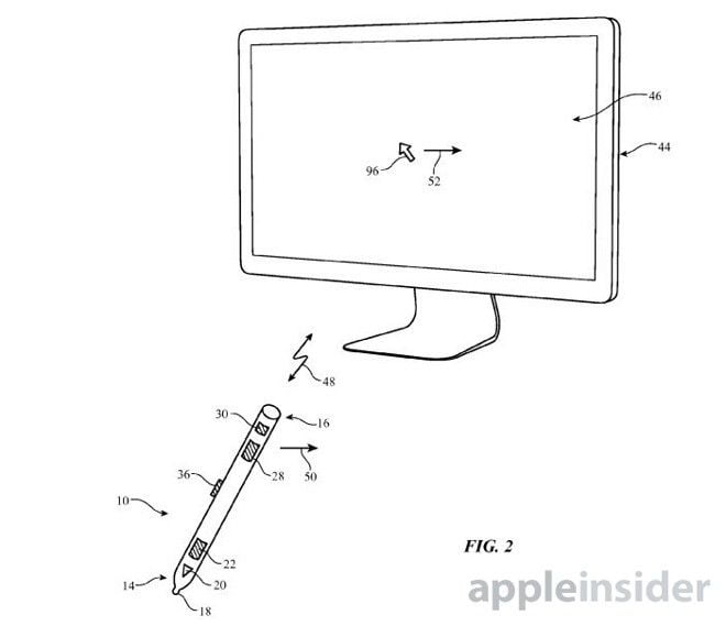 A new patent shows what it would be like to use the Apple Pencil with the Magic Trackpad