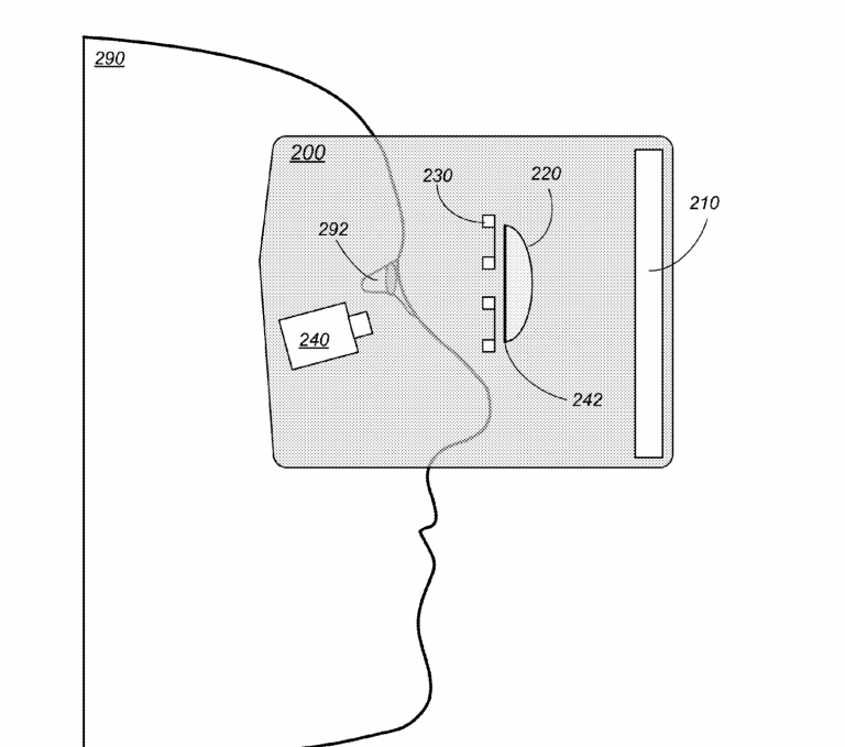 According to this patent Apple could design virtual reality glasses for iPhone