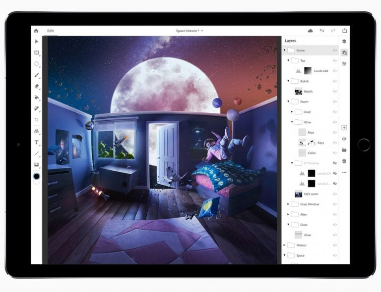 Adobe to Release Full Version of Photoshop for iPad in 2019, According to Bloomberg