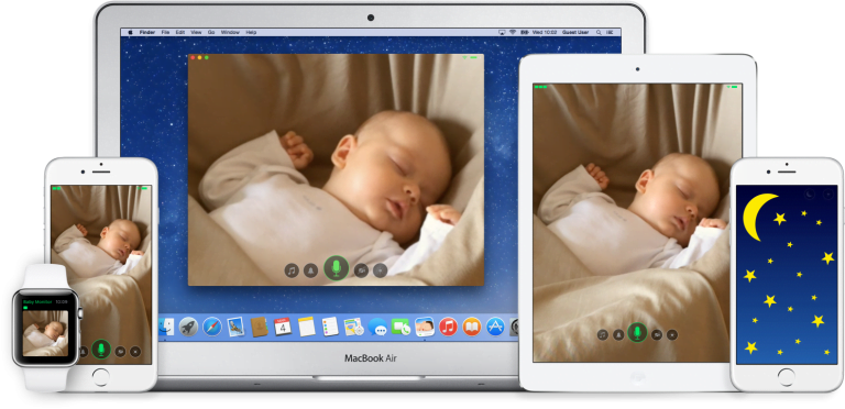 Air Cam, live video from your Mac to iPhone or iPod Touch