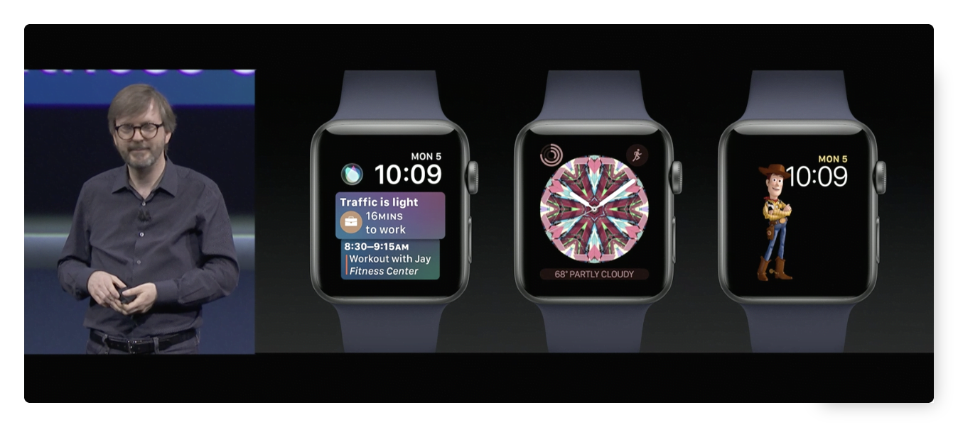 All watchOS 4 news at WWDC17