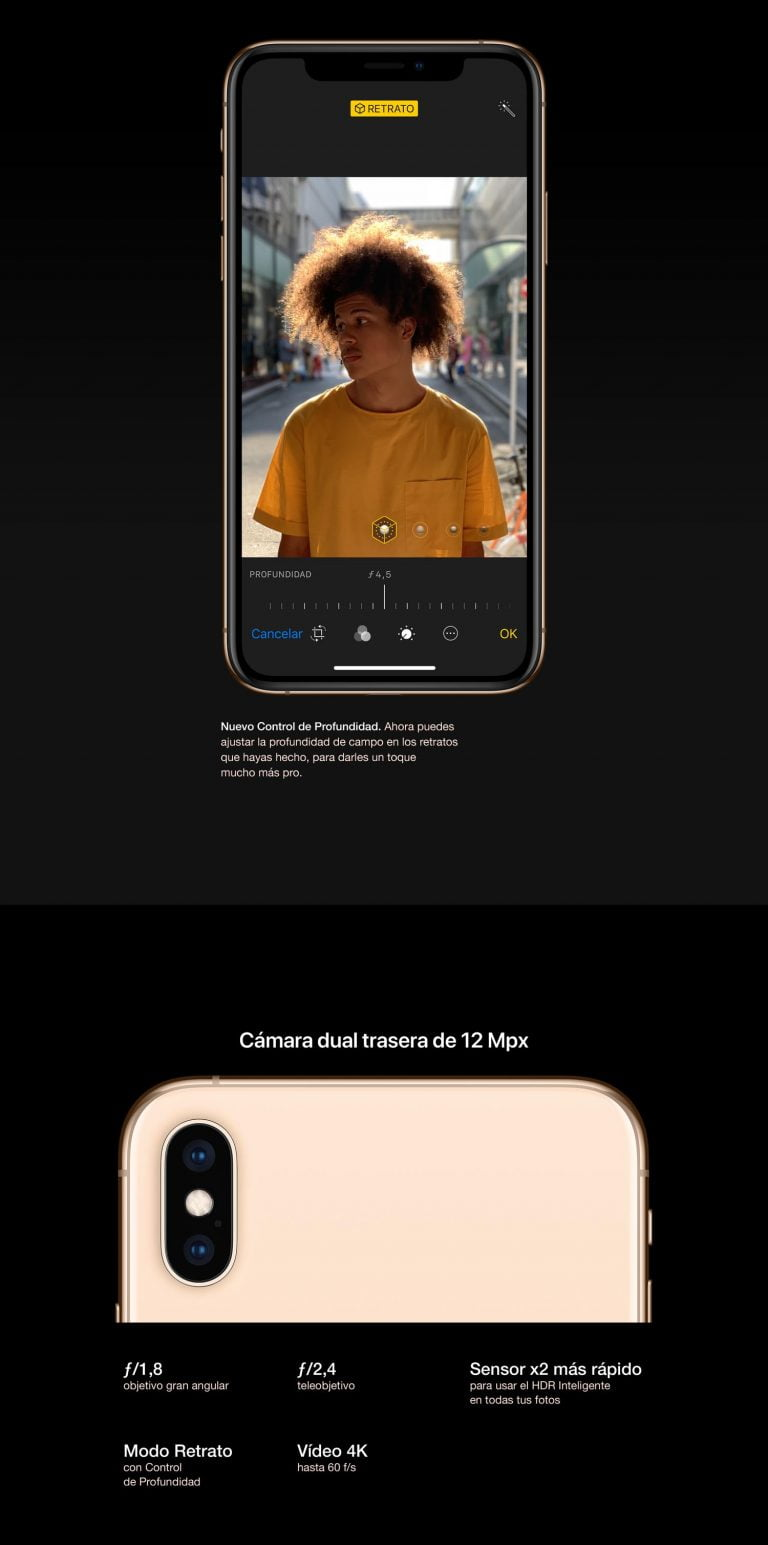 Apple iPhone XS 64Gb Plata Libre