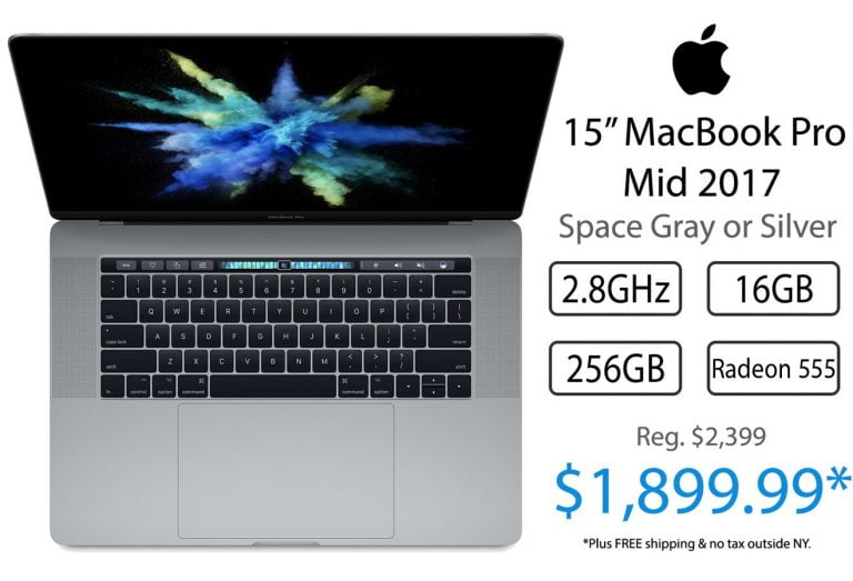 Apple moves up the delivery date on the 15-inch MacBook Pro