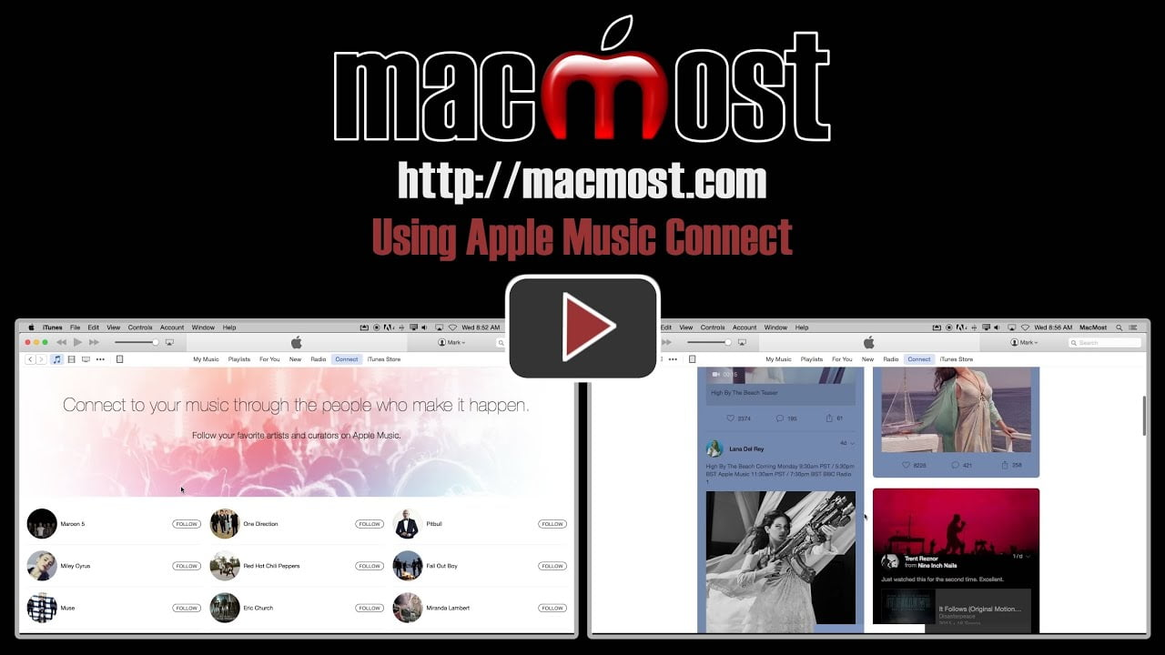 Apple Music for Artists, this is the Music app for your iPhone if you are Nine Inch Nails