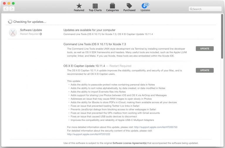 Apple releases OS X 10.11.6 The Captain, a security update for a kernel issue
