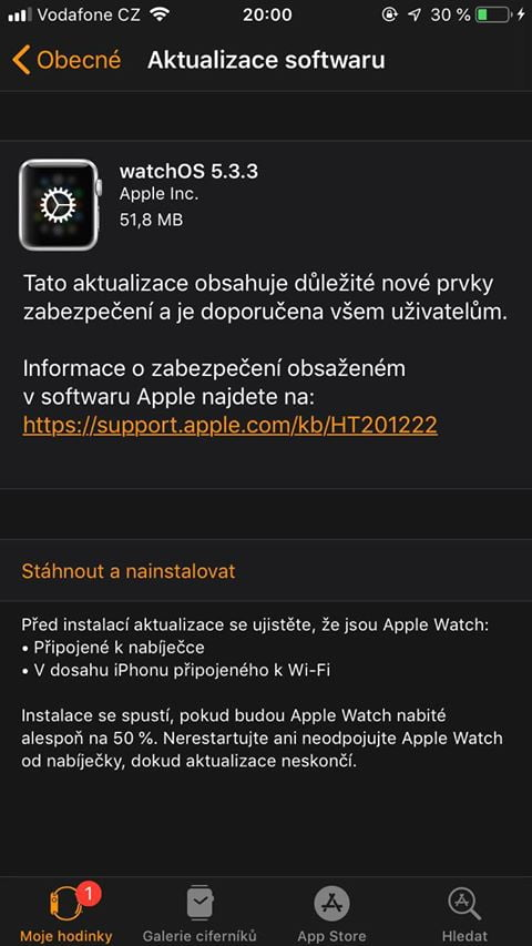 Apple releases watchOS 5 beta for developers again
