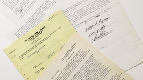 Apple's founding documents signed by Jobs, Wozniak and Wayne are up for auction