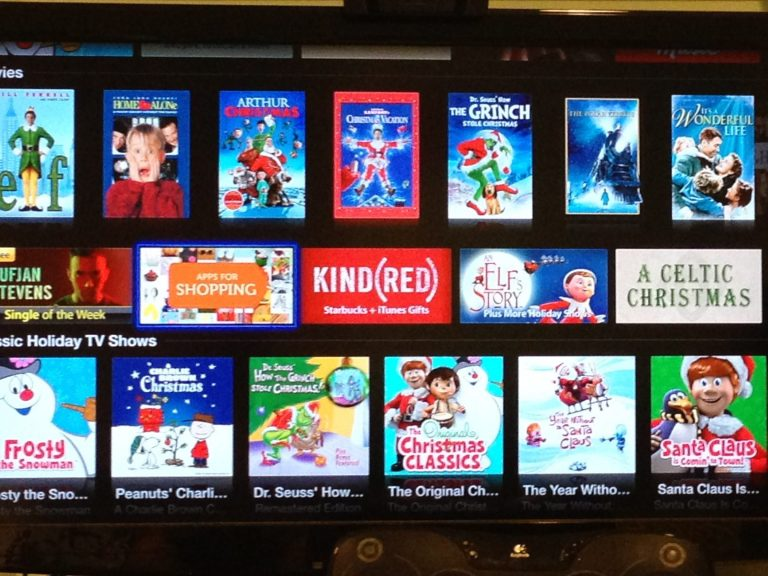 """AppleTV mistakenly displays """"apps"""" on the iTunes Store"""
