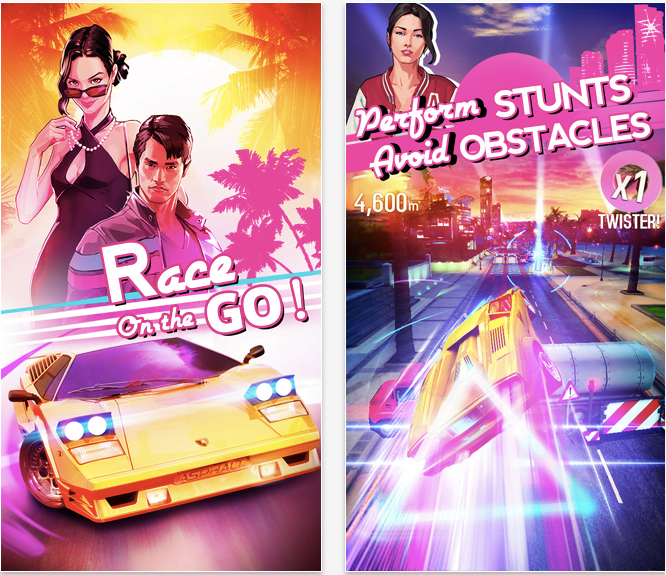 Asphalt Overdrive takes us to the California of the eighties