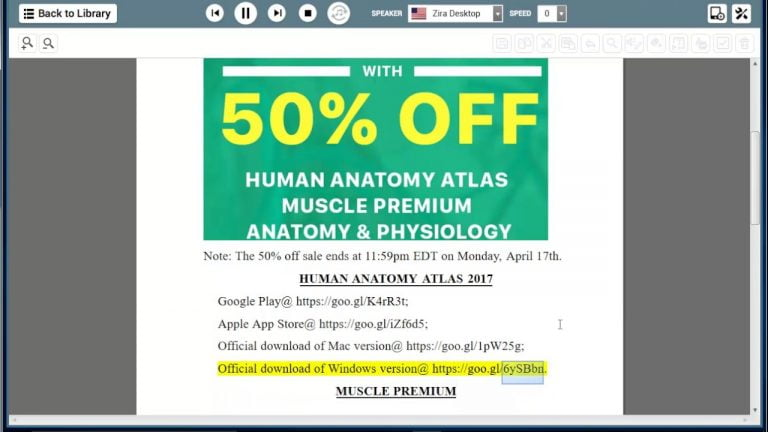 Atlas of Human Anatomy on the App Store