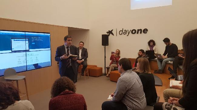 Be supportive while you learn, Apple charity seminar in Bilbao