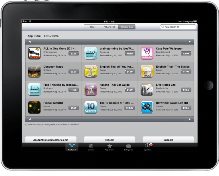 Bento for iPhone, database manager in your pocket