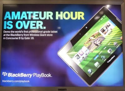 BlackBerry PlayBook, the first serious iPad competitor