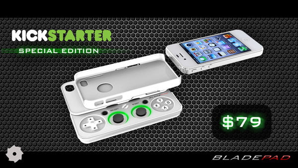 Bladepad, the ultimate game controller for the iPhone?