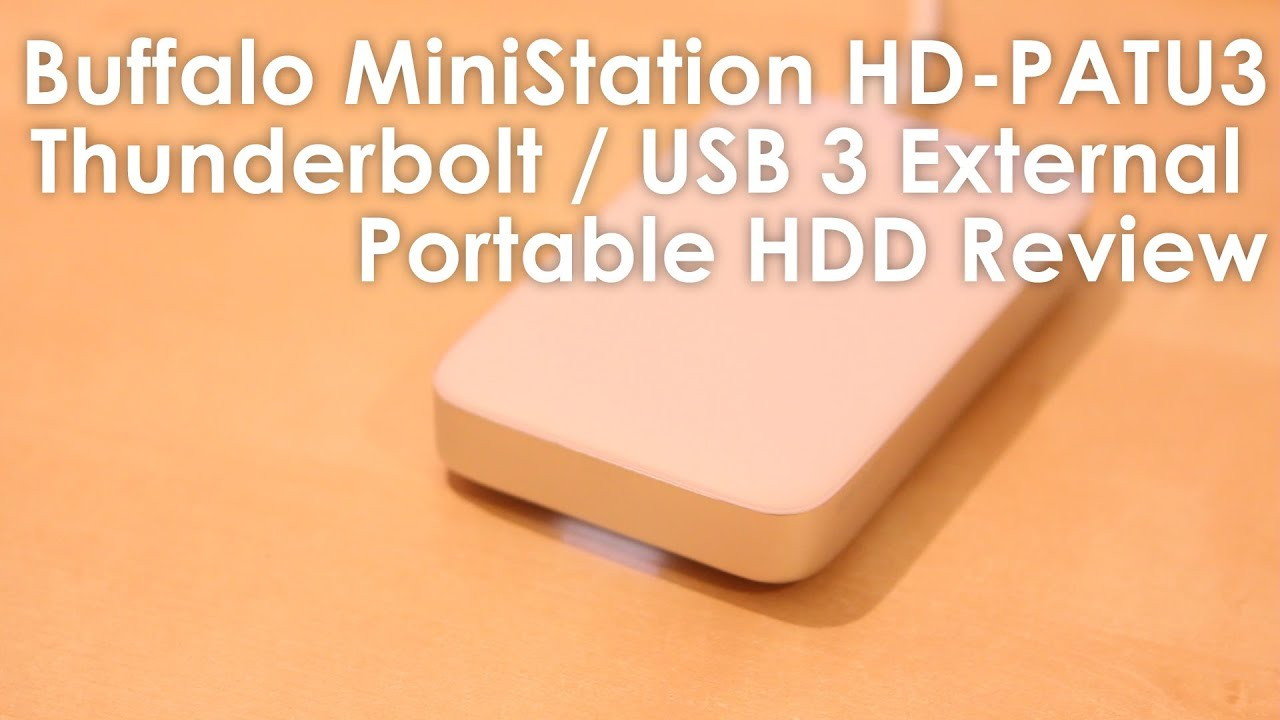 Buffalo DiskStation HD-PATU3 con USB 3.0 y Thunderbolt