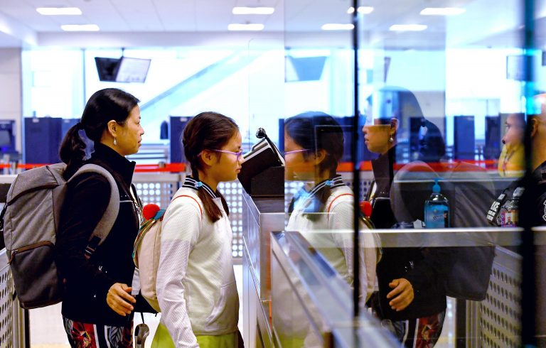 circumvent facial recognition of airports and shops in a test