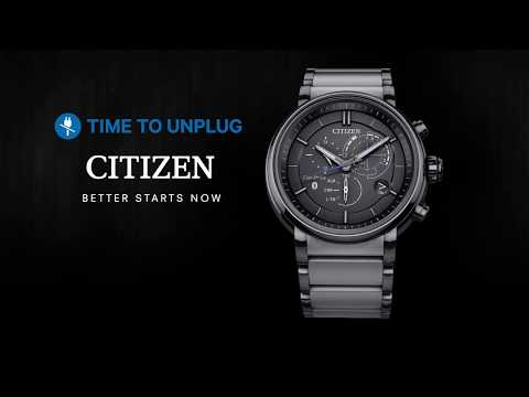Citizen Proximity, a watch with Bluetooth 4.0 technology and great design
