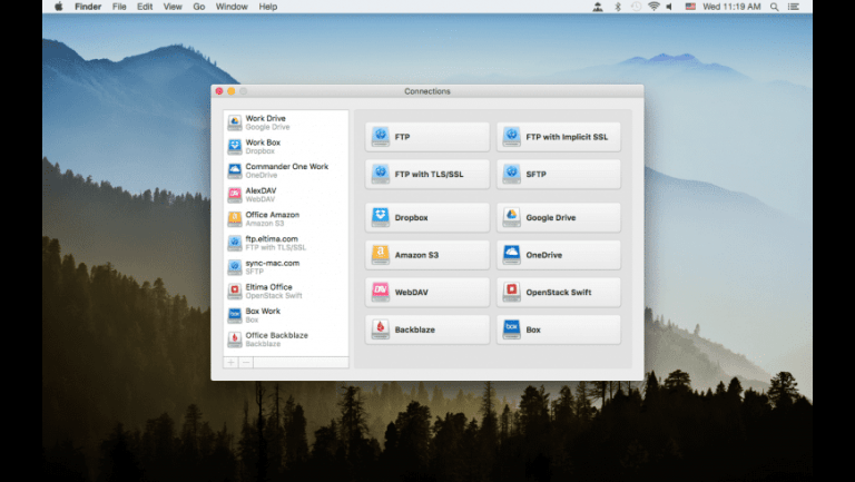 CloudMounter mounts the cloud storage you use as if it were an external drive