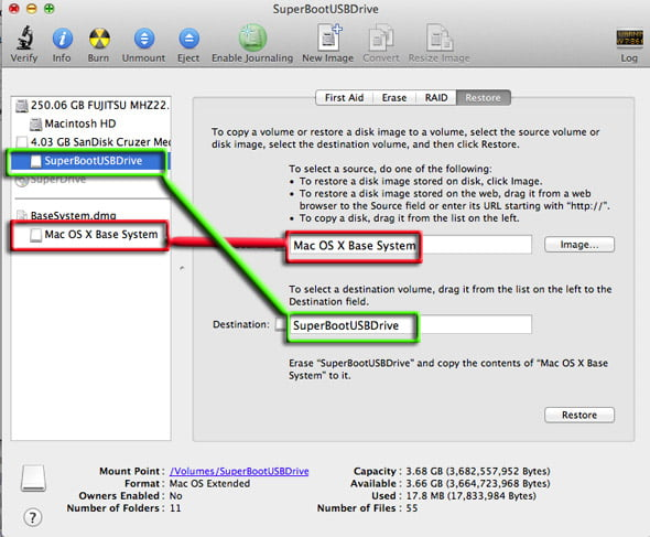 Create your own OS X Lion recovery image