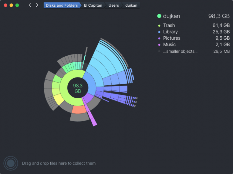 Daisydisk, updated and with more options