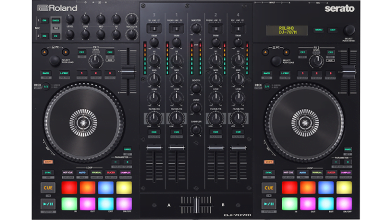 deejay and universal mixing board application