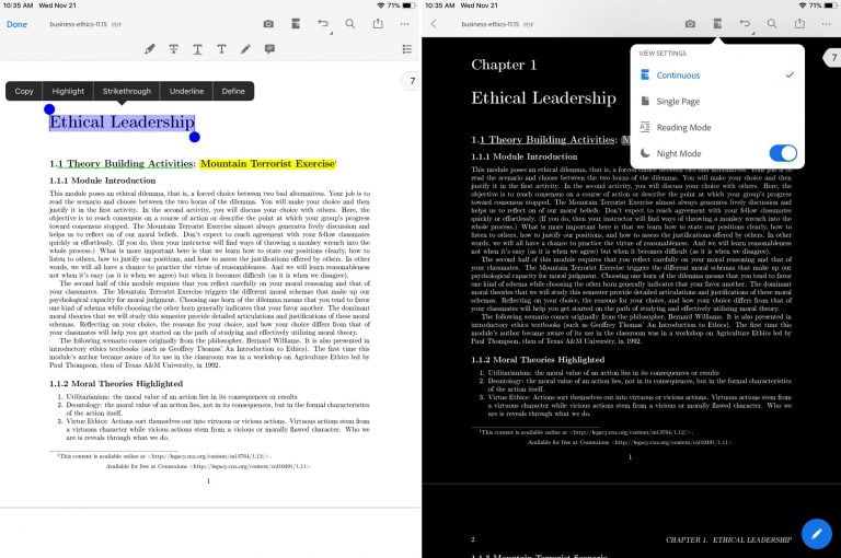 Digital textbooks on iPad (and also on your Mac) [E-book special]