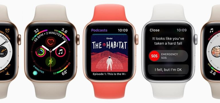 discover the resolution of the Apple Watch Series 4 in the latest beta