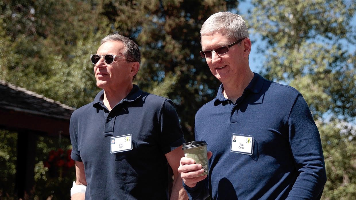 Disney's CEO will remain on Apple's board of directors, even though they are now in direct competition