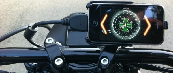 Do you have a Harley? GaugeFace will allow you to use your iPhone in a very peculiar way