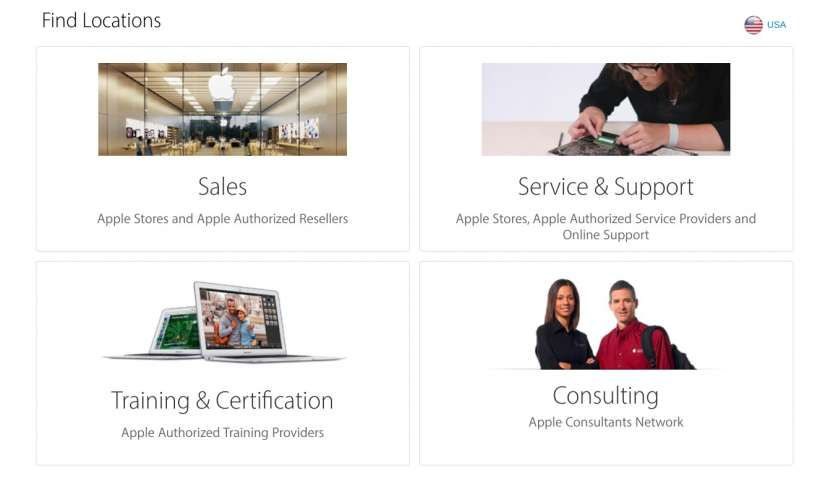Do you need technical support from Apple? Here is a list of all the authorized stores in Spain