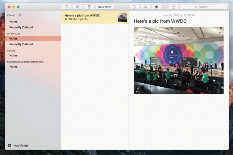 Evernote improves searches with the use of natural language in its OS X version