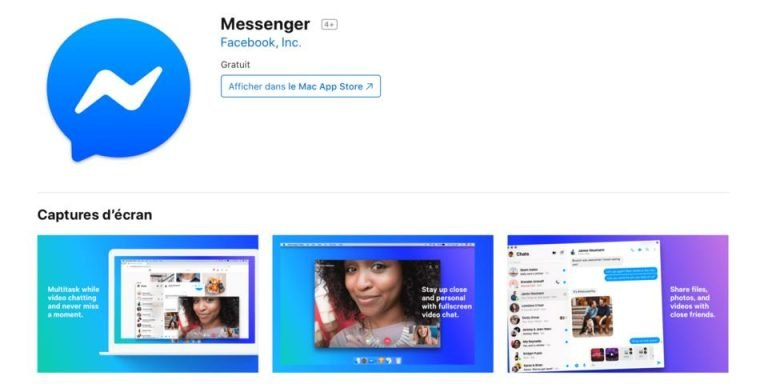 Facebook Messenger App Store Now Available