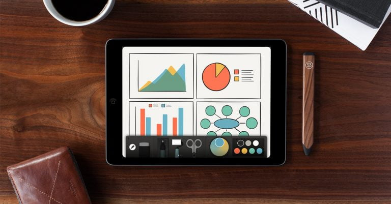 FiftyThree Paper, the perfect App to accompany the Stylus Pencil, totally free in the App Store
