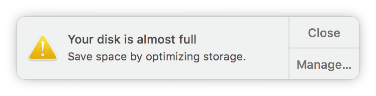 Find the files that take up the most space on your Mac without any third-party applications
