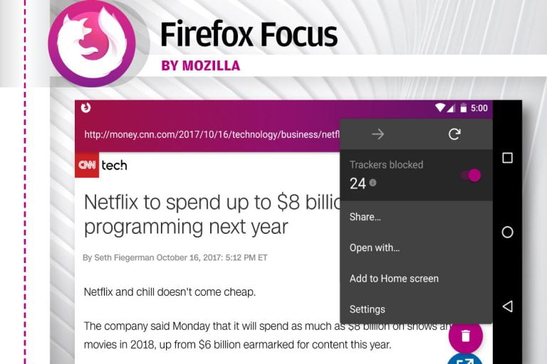 Firefox Focus returns to the App Store with a built-in browser to protect your privacy