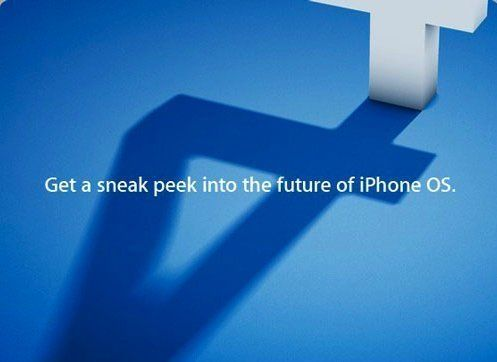 First image and rumors of the new iPhone OS 4.0