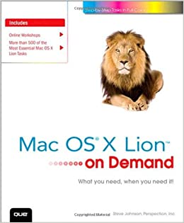 First screenshots of Mac OS X Lion and its new interface